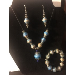 Necklace, Bracelet & Earring Set